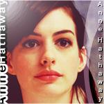 Anne Hathaway-icon by YZH619