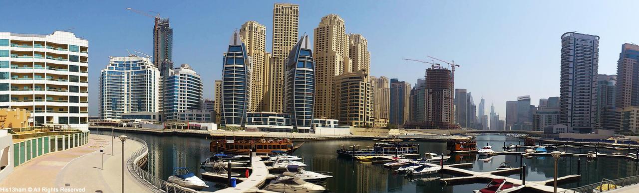 Dubai Marina by YZH619