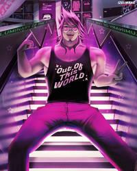 Kaito Momota (Neon Stairs)