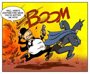 Batman and Hardy