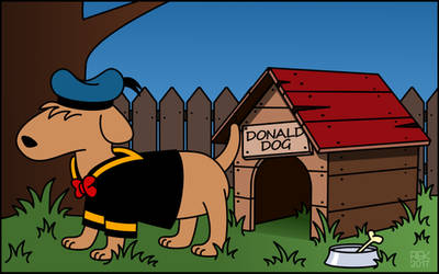 Donald Dog by dunwich7