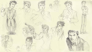 The Tenth Doctor by megamoth