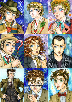 Shoujo Doctor Sketch Cards