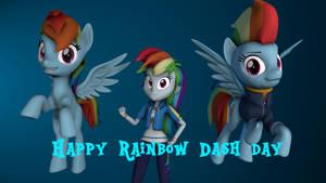 Happy Rainbow Dash day