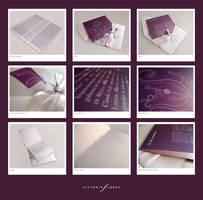 Wedding invitation by vikifloki