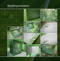 Another wedding invitation by vikifloki