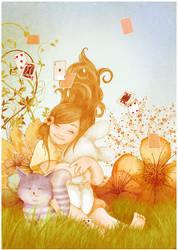 Alice in wonderland by vikifloki