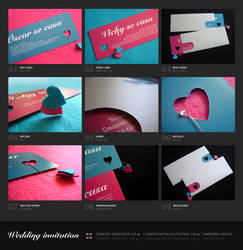 My wedding invitation by vikifloki