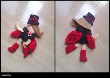 Lady ladybug by vikifloki
