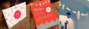 Birthday Card for Marta