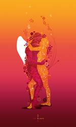 Cupid and Psyche 2 by vikifloki