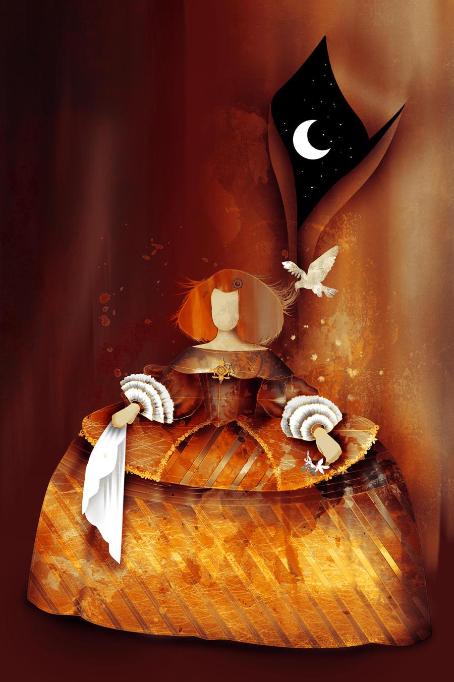 Menina Nocturna by vikifloki