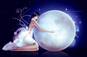 Ma lune by vikifloki