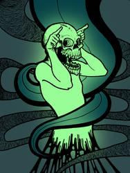 Auroch glow by freakstatic