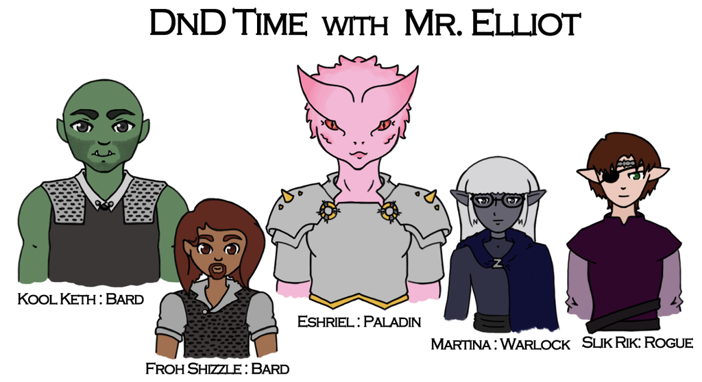 DnD Time with Mr. Elliot by Hattey
