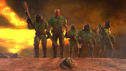 DOOM Team Six by TheDOOMMan