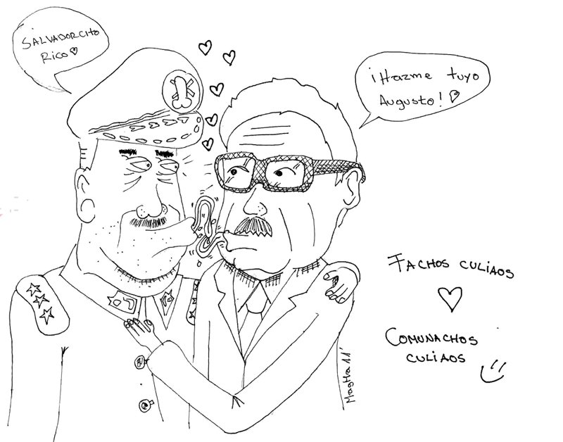 Pinochet Y Allende By Magmamax On Deviantart