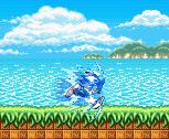 Sonic - Boosting [BG Blur] by SonicDBZFan4125