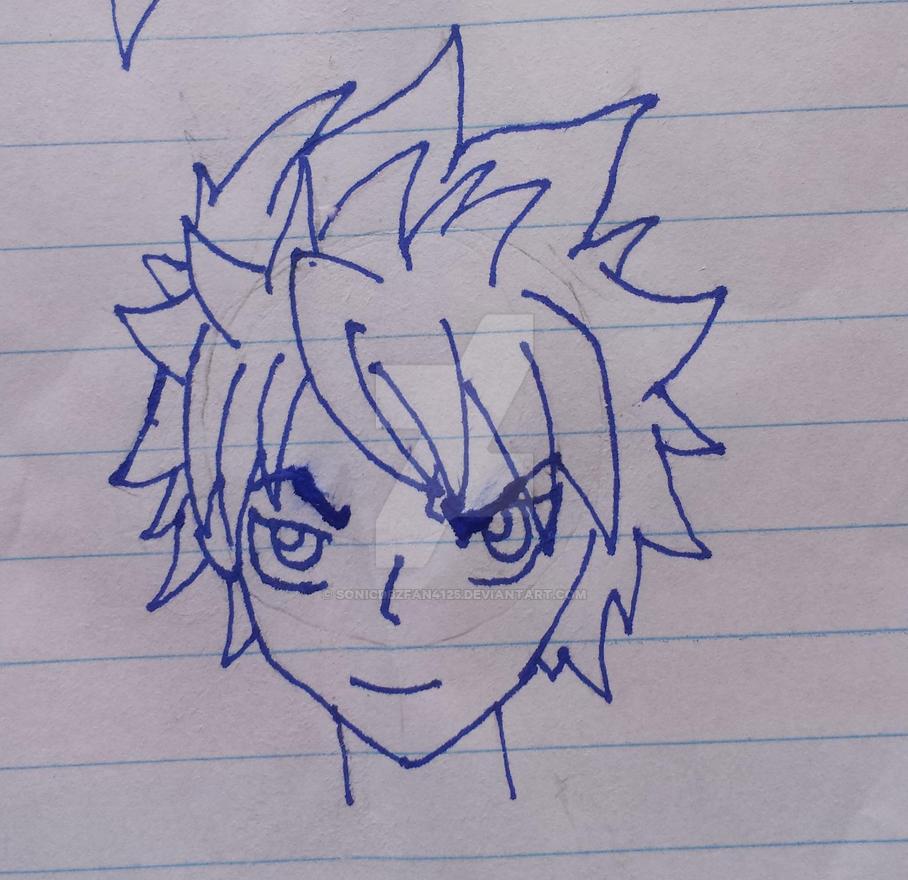 Zack Skyarrow (Human) by SonicDBZFan4125