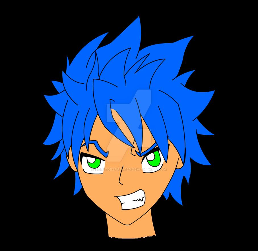 Zack Skyarrow [Colour] by SonicDBZFan4125
