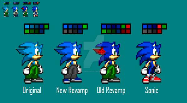 Zack Revamp [NEW] by SonicDBZFan4125