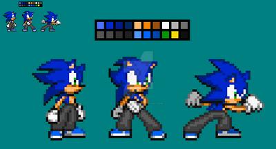 Zack V3.5 [New Colour Palete] by SonicDBZFan4125