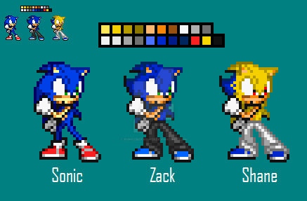 Seth V3 [New Colour Palette] by SonicDBZFan4125