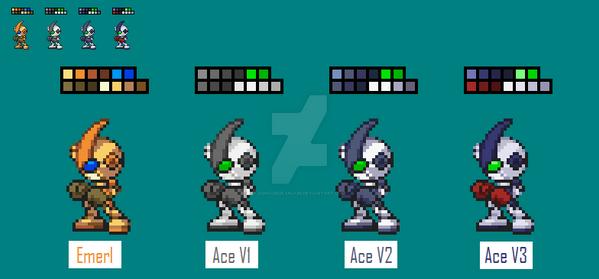 A.C.E V3 [New Colour Palette] by SonicDBZFan4125