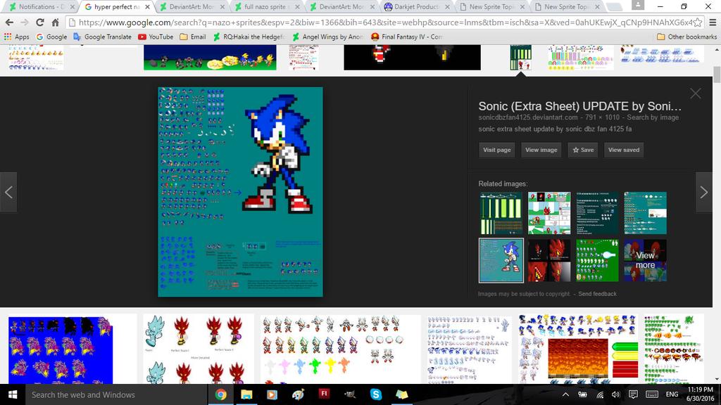 Found mahself on Google by SonicDBZFan4125