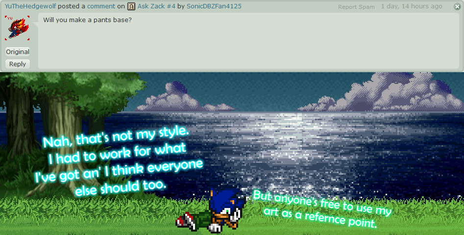 Ask Zack #5 by SonicDBZFan4125