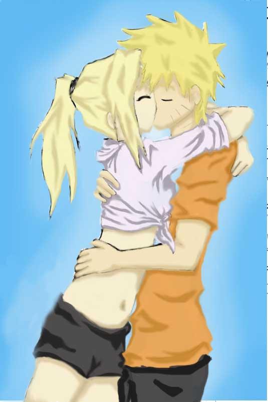 Naruto And Ino Kiss
