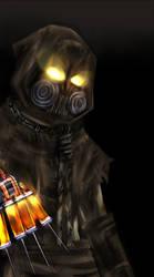 Arkham Asylum : SCARECROW by ANDREAc