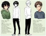 Character sheet - Yuuta and Keiichi
