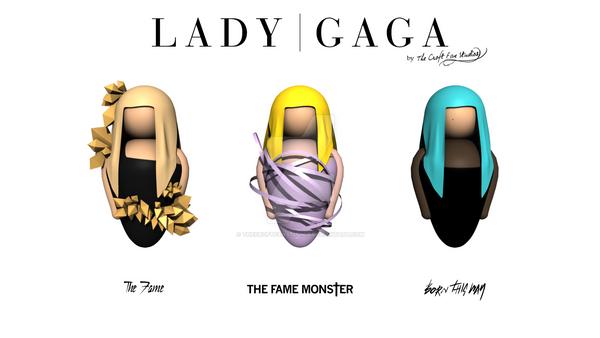 LADY GAGA Evolution by TheCroftFanStudios