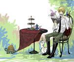 Hetalia-afternoon tea time