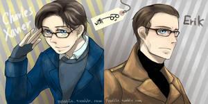 XMFC: Men in glasses