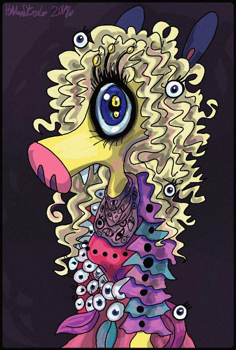 One eyed werewolf Hollipolliyozza