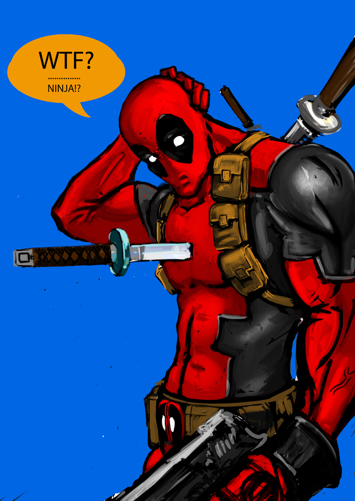 WTF Deadpool by AndgIl