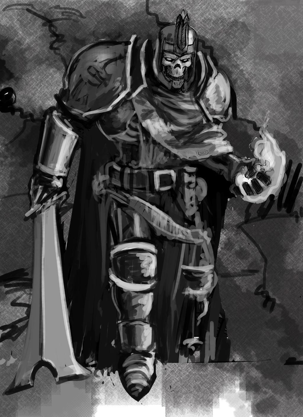 Skeleton King by AndgIl