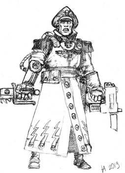 Comissar Warhammer 40000
