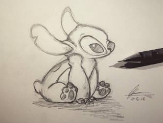 Stitch Sketch  by sqoodio