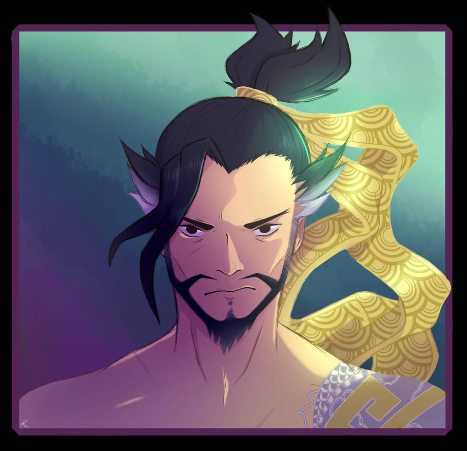 Hanzo Wallpaper: Hanzo By Sqoodio On DeviantArt