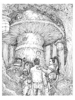 Mushroom House Book Picture