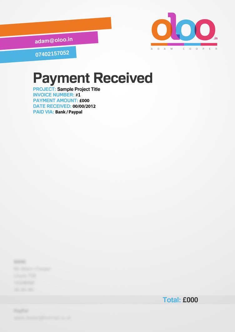Pin Payment Receipt Template on Pinterest CJiPNsTQ