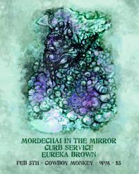 Mordechai Concert Poster by desertlimosine