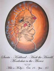 Orange Bird Concert Poster by desertlimosine