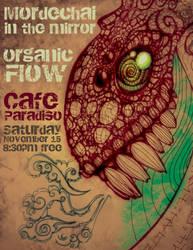 Organic Flow Concert Poster by desertlimosine