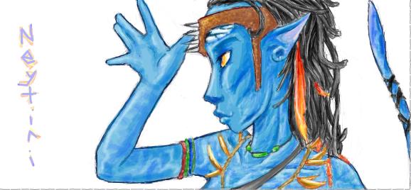 Neytiri - Avatar by SimonSoys