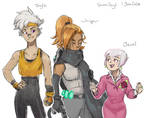 Human IDW Sonic Girls