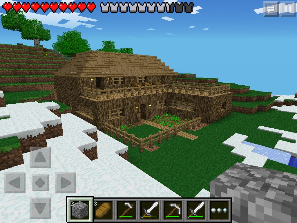 Minecraft PE House by Timprestianni. Minecraft PE House by Timprestianni on DeviantArt
